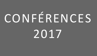 Conférences 2017