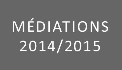 Médiations 2014-2015