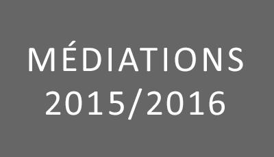 Médiations 2015-2016