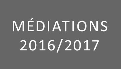 Médiations 2016-2017