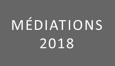 Médiations  2018