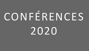 Conférences 2020